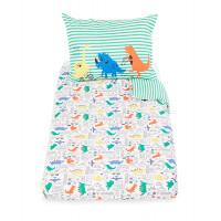 """Набор """"Динозаврик"""" для детской кроватки, зеленый"""