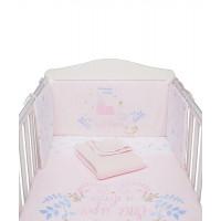 Набор для кроватки, розовый