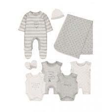 Набор из 8 элементов для недоношенных детей, серый
