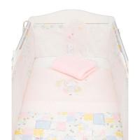 """Набор постельного белья в кроватку Mothercare """"Весенний зайчик"""", розовый"""