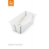Набор Stokke Flexi: ванночка складная с подставкой и термочувствительной пробкой