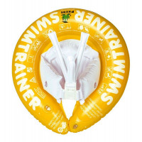 Надувной круг SWIMTRAINER, цвет: желтый
