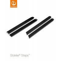 Ножки для стула Stokke Steps Oak Black, цвет: черный