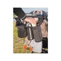 Органайзер Stroller Caddy для коляски Valco baby, цвет: черный