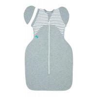 Пеленка-кокон LoveToDream 50 50 Original, размер M, цвет: серый