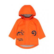 """Плащ на трикотажной подкладке """"Всегда счастливый"""", оранжевый"""