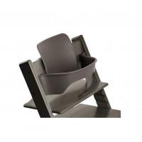 Пластиковая вставка Stokke Baby Set для стульчика Tripp Trapp Hazy Grey, серый