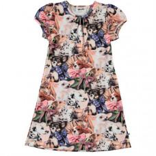 Платье Molo Camellia, белый, бежевый