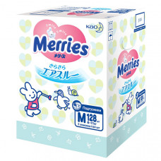 Подгузники для детей Merries размер M 6-11 кг 128 шт.