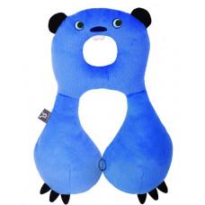 """Подушка для путешествий Ben Bat """"Бобр"""", цвет: голубой"""