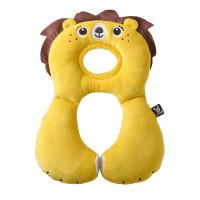 """Подушка для путешествий Ben Bat """"Лев"""" (1-4 года), цвет: желтый"""