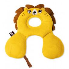 """Подушка для путешествий Ben Bat """"Лев"""", цвет: желтый"""