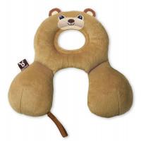 """Подушка для путешествий Ben Bat """"Медвежонок"""", цвет: коричневый"""