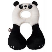 """Подушка для путешествий Ben Bat """"Панда"""", цвет: черно-белый"""