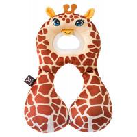 """Подушка для путешествий Ben Bat """"Жираф"""", цвет: бежево-коричневый"""