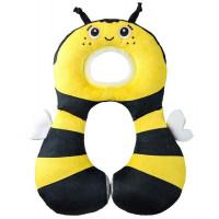 """Подушка для путешествий Benbat """"Пчела"""", желтый"""