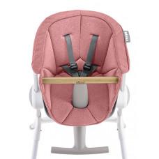Подушка для стульчика для кормления Beaba Textile Seat, розовый