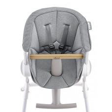 Подушка для стульчика для кормления Beaba Textile Seat, серый