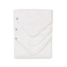 Полотенце-уголок, цвет: белый - 3 шт. в упаковке