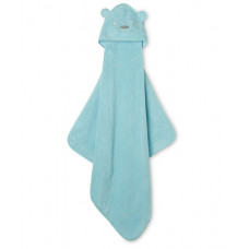 "Полотенце- уголок Mothercare Cuddle \'n Dry ""Медвежонок"", цвет: синий"