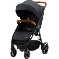 Прогулочная коляска Britax Roemer B-Agile R, Black Shadow/Brown, черный/коричневый
