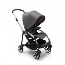 Прогулочная коляска Bugaboo Bee6 Complete Alu/Grey Melange, стальной серый меланж