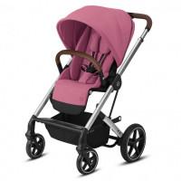 Прогулочная коляска Cybex Balios S Lux SLV Magnolia Pink, розовый