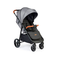 Прогулочная коляска Happy Baby ULTIMA V2 X4 Grey, серый