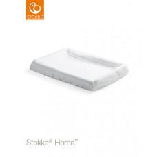 Простыня на резинке для пеленальной доски Stokke Home Changer, цвет: белый, 2 шт. в упаковке