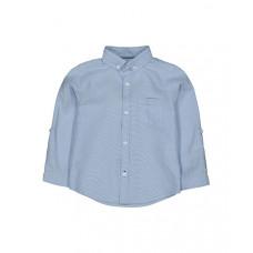 Рубашка оксфорд, голубой