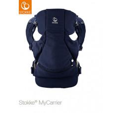 Рюкзак-переноска 3-в-1 Stokke MyCarrier, цвет: темно-синий
