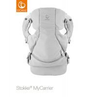 Рюкзак-переноска 3-в-1 Stokke MyCarrier Grey, цвет: серый