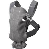 Рюкзак-переноска Baby Bjorn Mini 3D Jersey, темно-серый