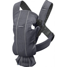 Рюкзак-переноска Baby Bjorn Mini 3D Mesh, антрацит