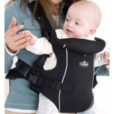 Рюкзак-переноска для детей Clippasafe Carramio, цвет: черный