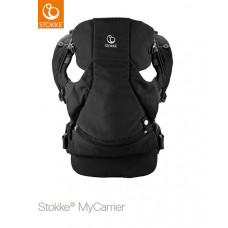 Рюкзак-переноска Stokke MyCarrier 2-в-1 Black, цвет: черный