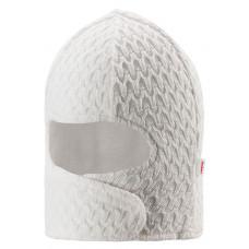 Шапка-шлем Reima, белый 604624