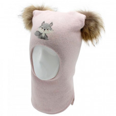 Шапка-шлем Totti Бельчонок, светло-розовый