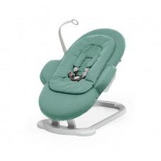 Шезлонг для новорожденного Stokke Steps Bouncer, Cool Jade, нефритовый