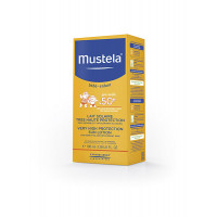 Солнцезащитное молочко с высокой степенью защиты Mustela SPF 50+, 100 мл
