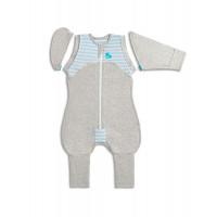 Спальный комбинезон Love To Dream Swaddle UP Transition Suit Original M, Blue, голубой