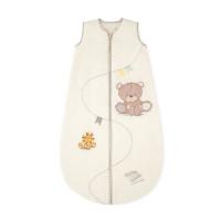 """Спальный мешок """"Медвежонок"""", 6-18 месяцев , цвет: кремовый"""