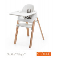 Столик-поднос Tray для стульчика Stokke Steps White, белый