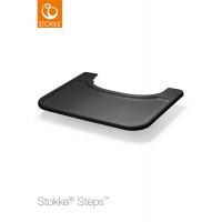 Столик-подносTray для стульчика Stokke Steps Black, черный