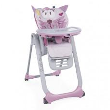 Стульчик Chicco Polly 2 Start Miss Pink, розовый