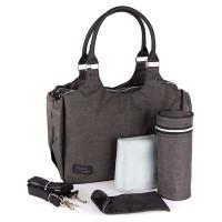 Сумка Valco baby Mothers Bag Charcoal, темно-серый