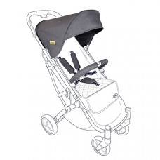 Тканевый комплект для коляски Squizz 3 Looping Dark grey, темно-серый