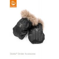Варежки для рук Stokke Stroller Mittens, Black Onyx, черный оникс