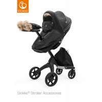 Зимний набор для коляски Stokke Winter Kit, Black Onyx, черный оникс