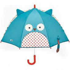 """Зонт детский Skip Hop """"Сова"""", цвет: голубой"""